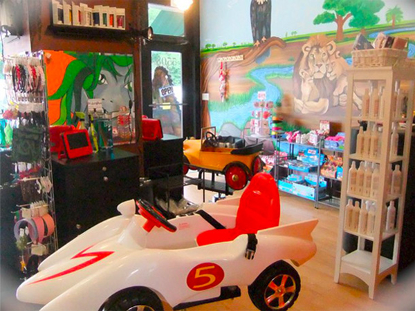 Rock hair scissors a hair salon just for kids in chicago il for A little luxury beauty salon